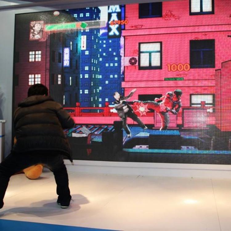 新款体感互动游戏_体感互动_与狼共舞
